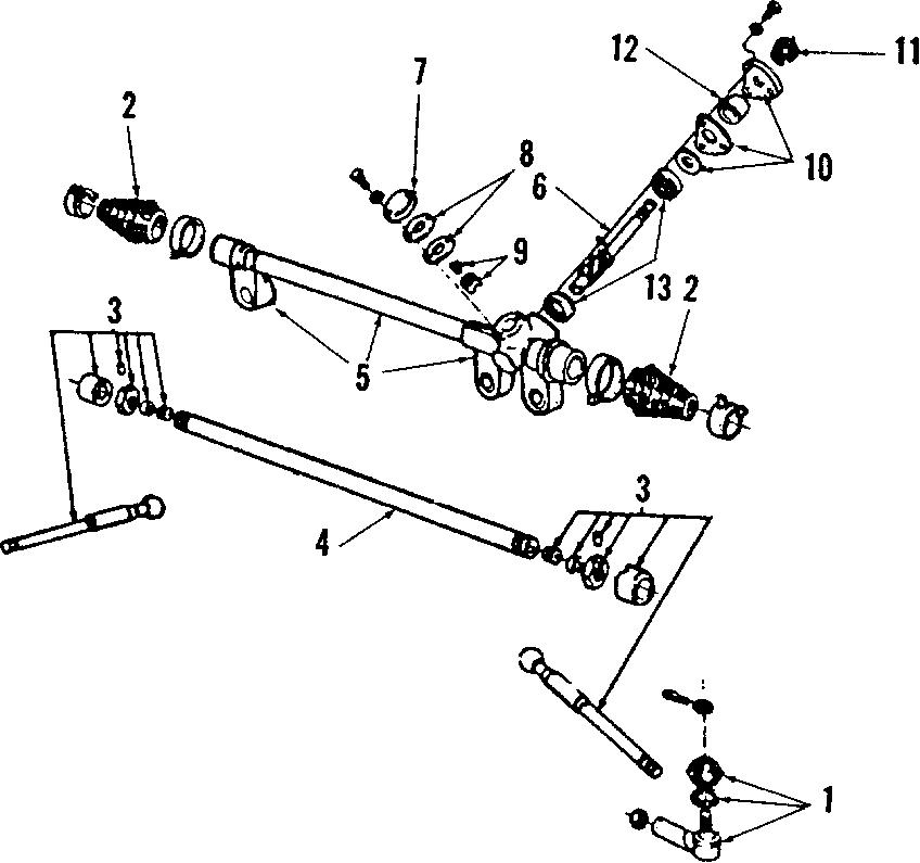 Mercury Capri Rack And Pinion Bellows Kit  Steering  Mark