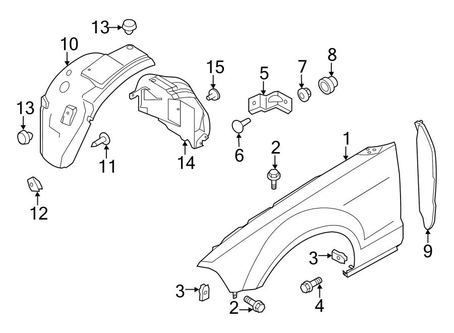 Ford Mustang Parts Diagram