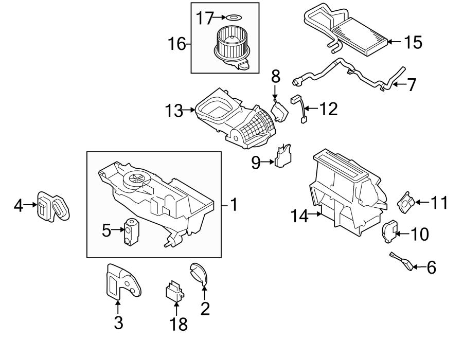 Ford Taurus Hvac System Wiring Harness  Auto Temp Control