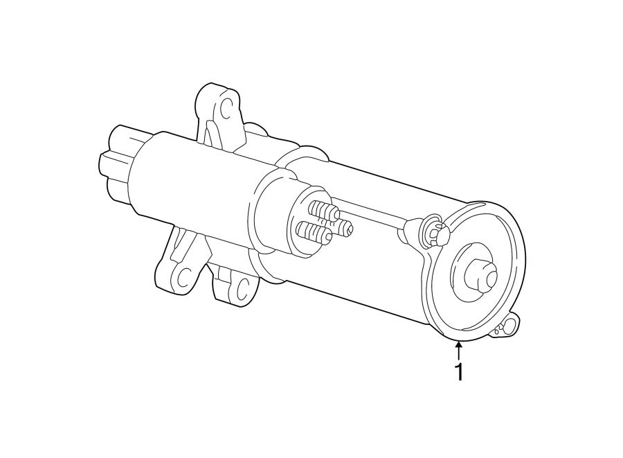 Lincoln Ls Starter Motor