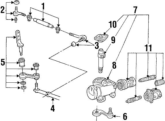 Mercury Grand Marquis Steering Gear Dust Shield