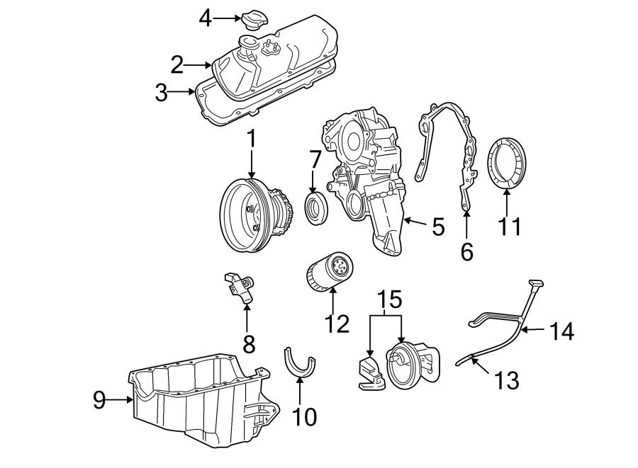 Ford Thunderbird Engine Oil Pan Gasket  3 8 Liter  4 2 Liter  E150