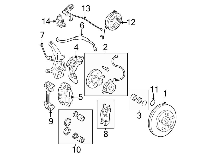 Lincoln Ls Valve  Solenoid  Vacuum