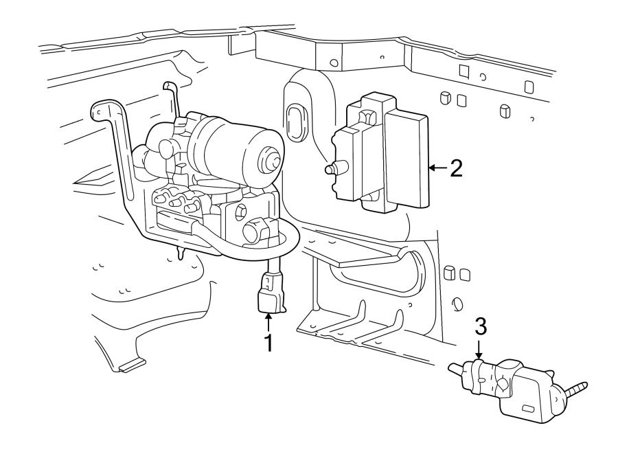 Ford F-250 Abs deceleration sensor. Wheel - F3TZ2C341A ...