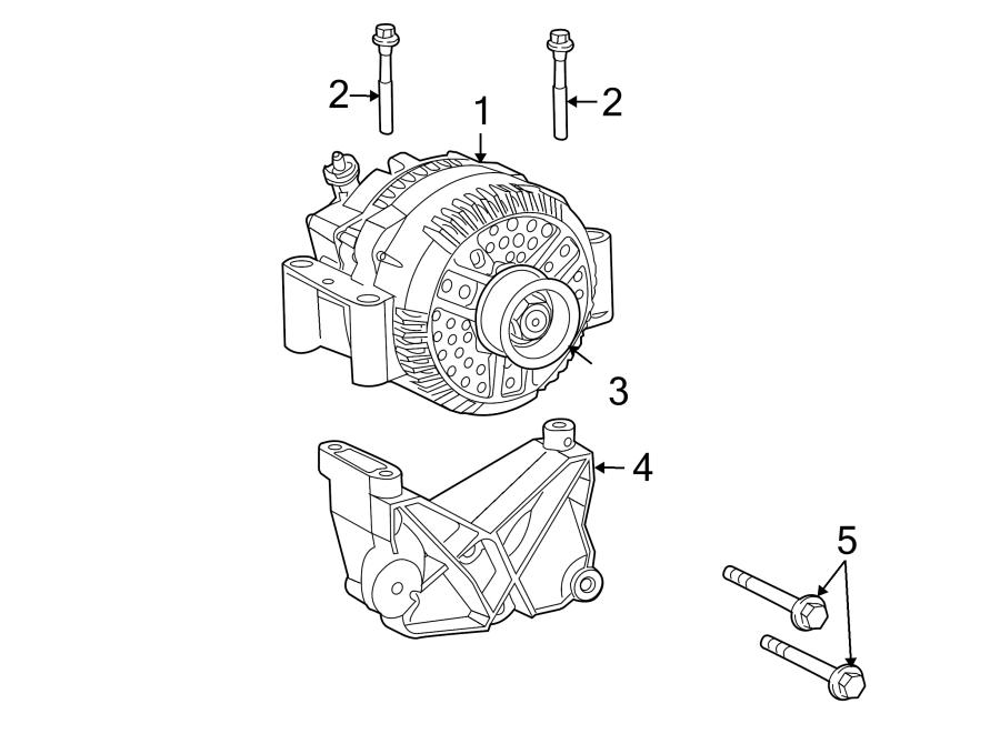 Ford Explorer Alternator Bracket  4 0 Liter  4 0 Liter