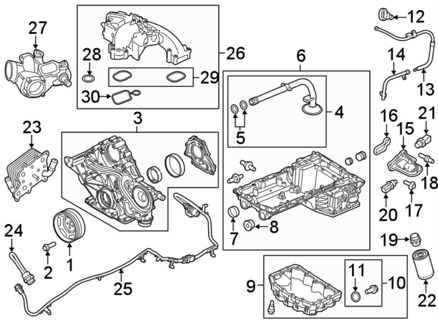Ford F-350 Super Duty Engine Heater Cord  6 7 Liter  6 7 Liter  2020  Wire