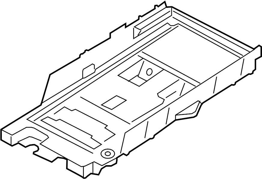 Ford Fusion Battery Tray  Conventional  Hybrid  Energi