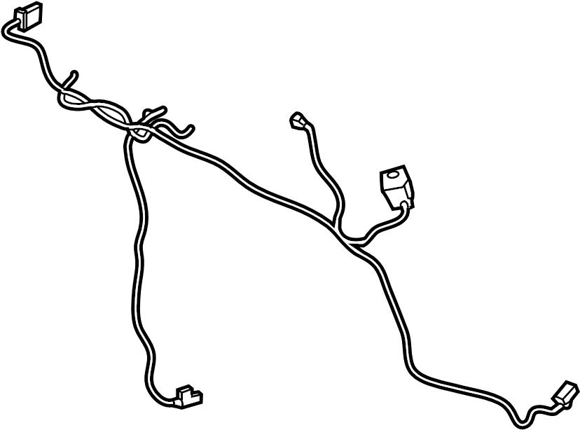 Ford F-150 Hvac system wiring harness. W/dual ac. W/o ...