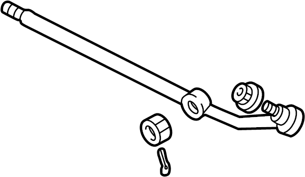 Ford E-350 Econoline Club Wagon Steering Drag Link  Center  Gear  Linkage
