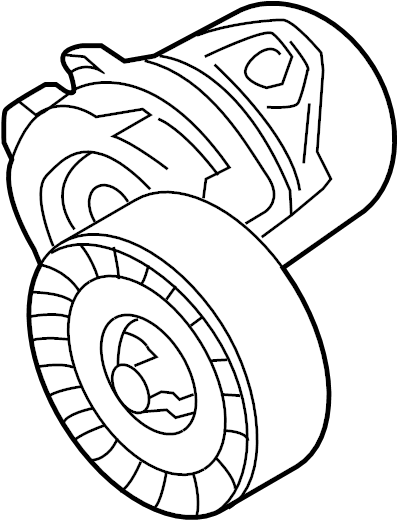 Lincoln Continental Accessory Drive Belt Tensioner
