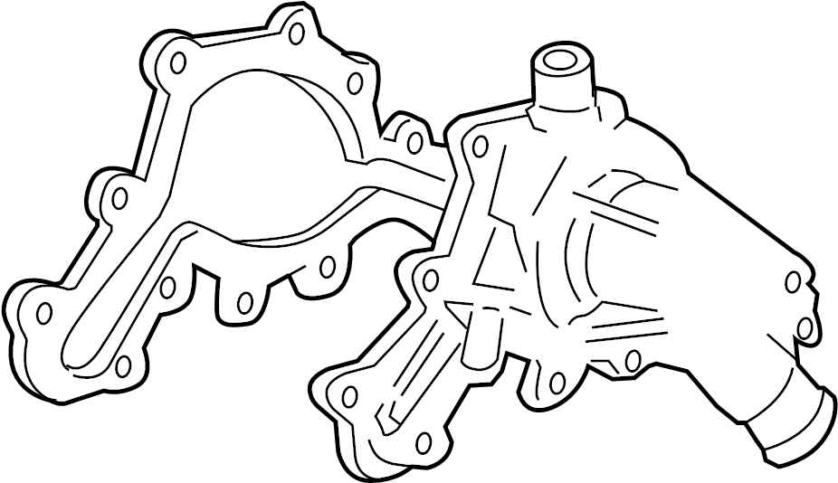 Ford Explorer Engine Water Pump Gasket  Sport  Trac  Liter